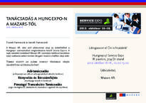 Mazars at Hungexpo invitation card 1
